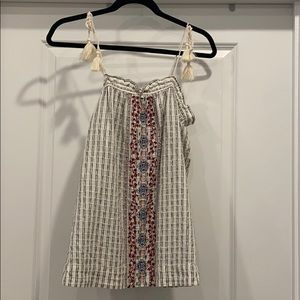 Universal Thread Embroidered Tank Top